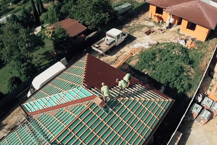 montaz vaznikoveho krovu